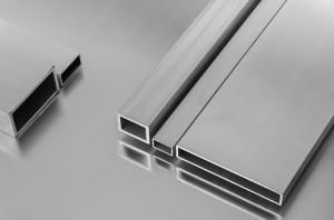 Tubo rectangular Aluminio