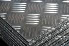 Chapa Aluminio Damero de 5 palillos