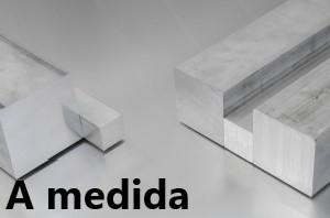 Barra Cuadrada Aluminio