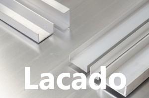 Perfil U Aluminio Lacado