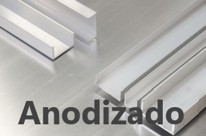 Perfil U Aluminio Anodizado