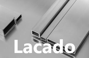 Tubos Rectangulares de Aluminio Lacado