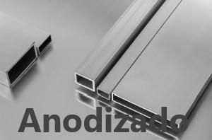 Tubos Rectangulares de Aluminio Anodizado