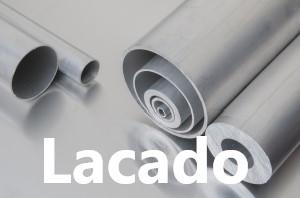 Tubo Redondo Aluminio Lacado