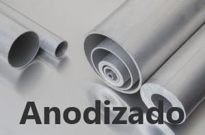 Tubo Redondo Aluminio Anodizado
